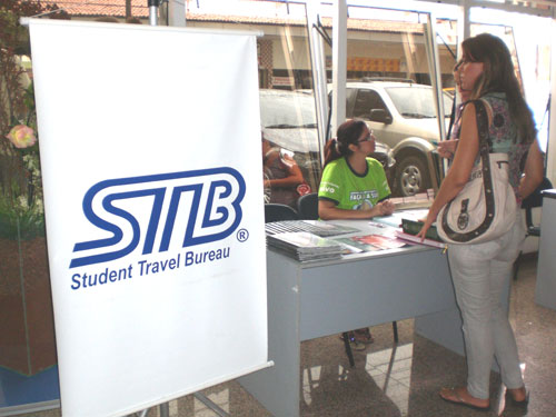 Student Travel Bureau (STB) no Campus Dom Luís