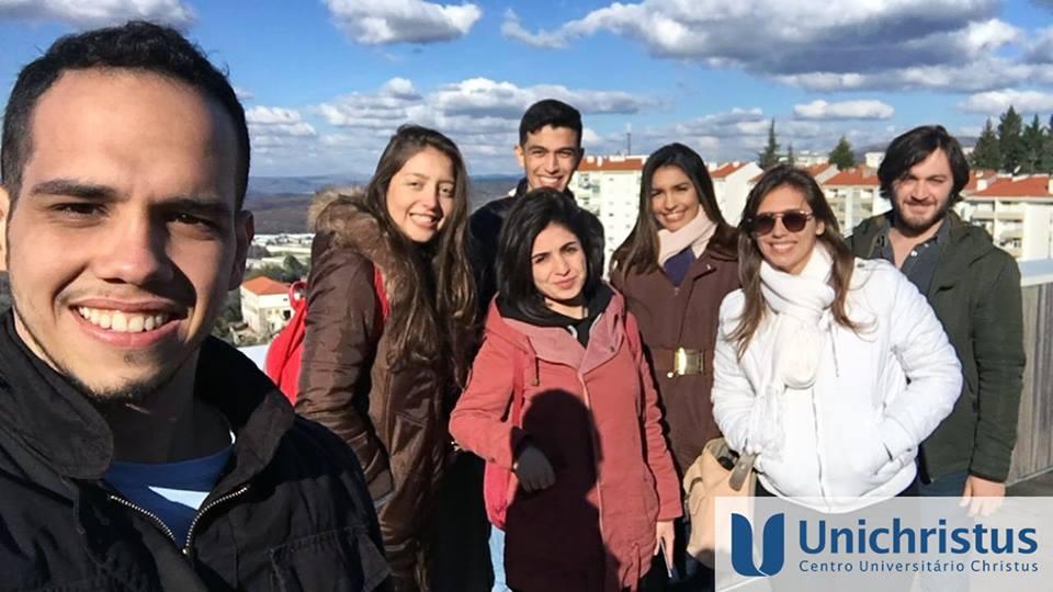 Alunos da Unichristus na Europa