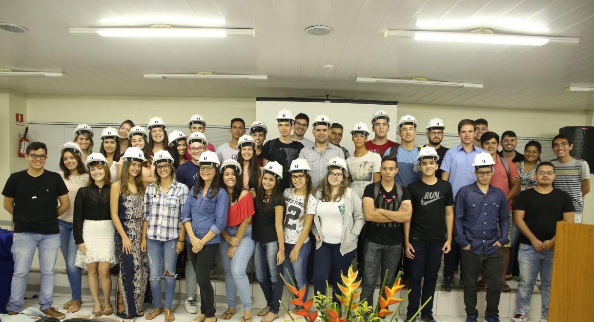 Aula Magna dos Cursos de Arquitetura e Urbanismo, Engenharia Civil e Engenharia de Produção da Unichristus
