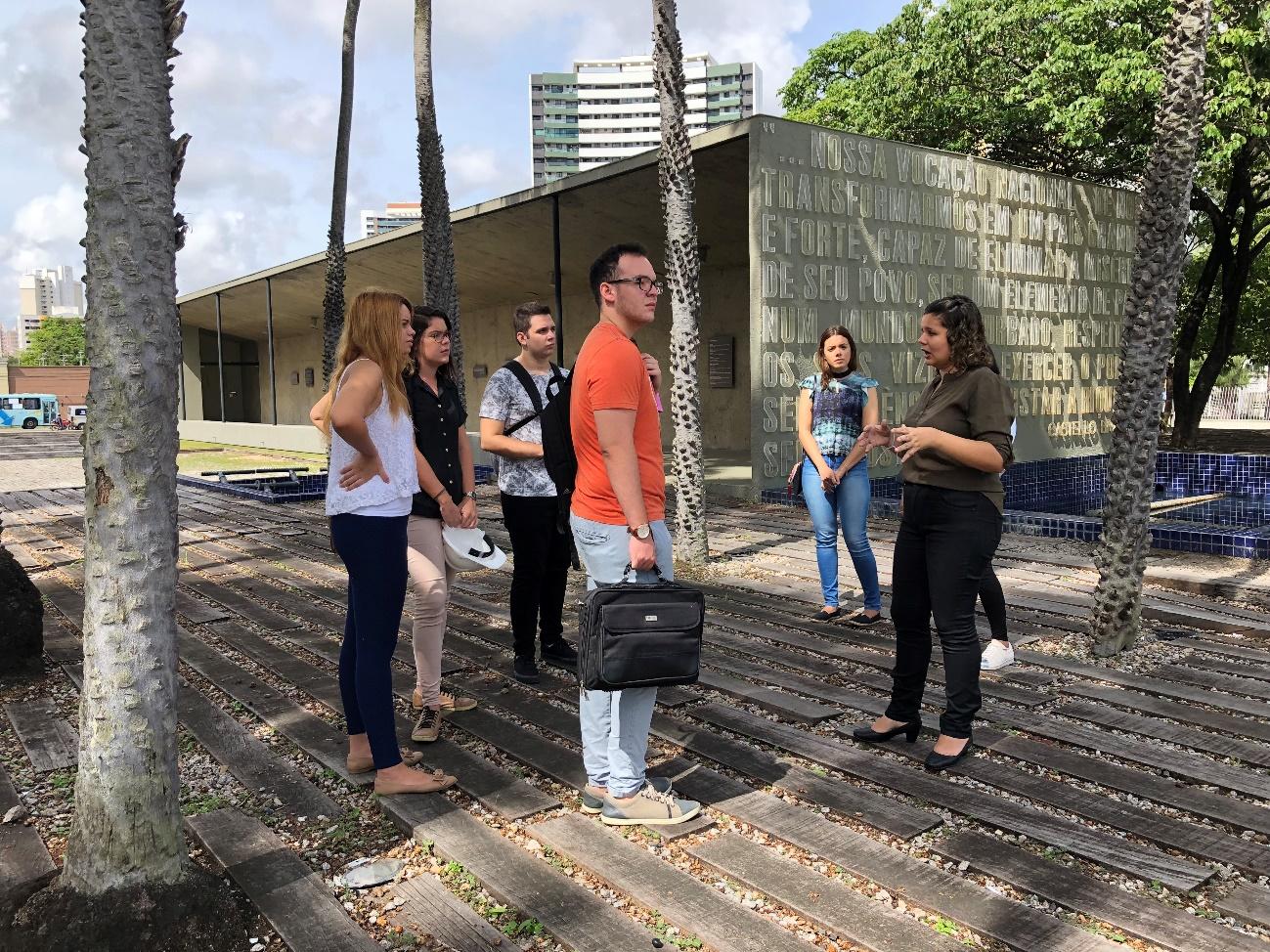 Visita técnica ao Palácio da Abolição