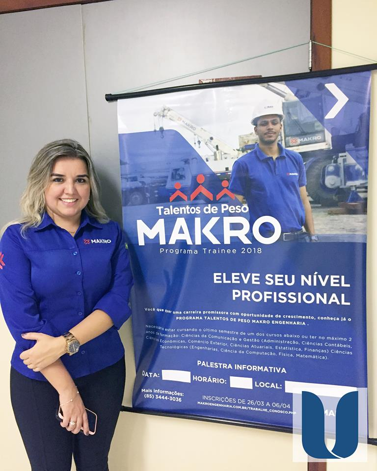 Programa Trainee - 2018 da Makro Engenharia