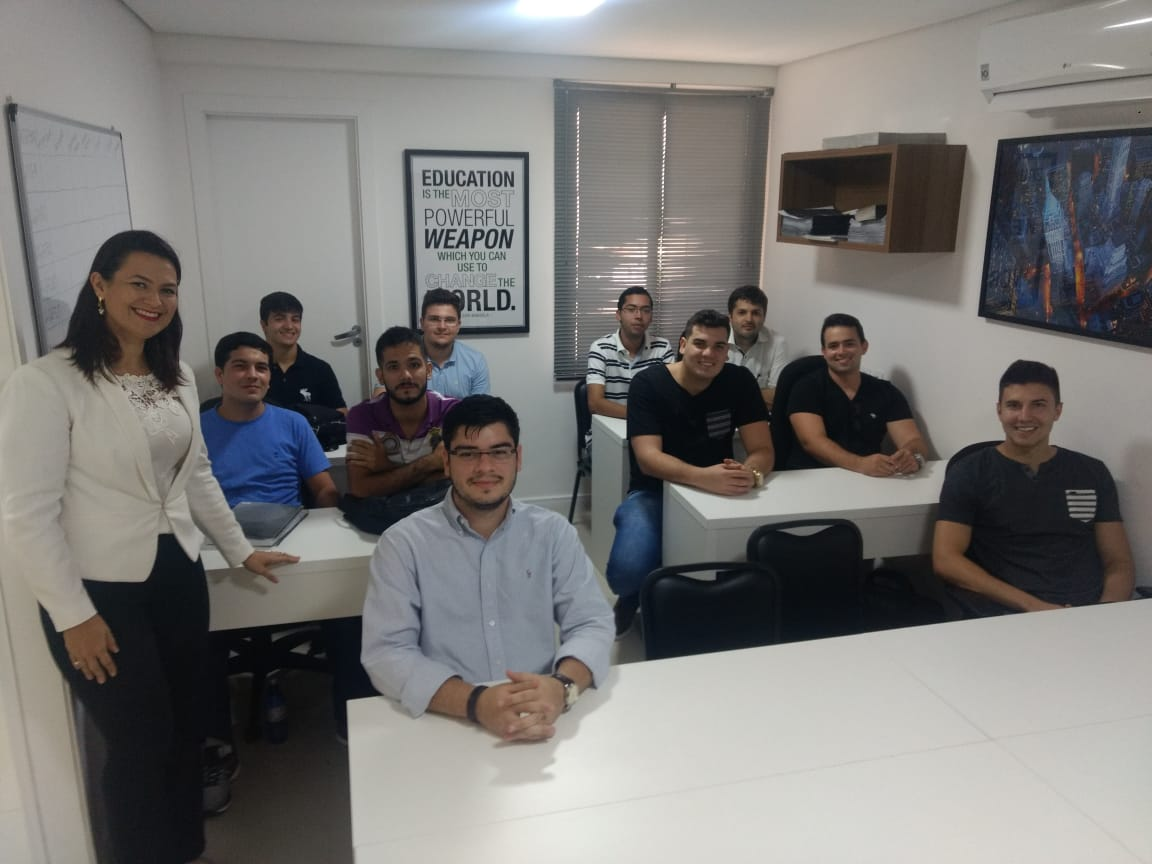 Alunos do Curso de Engenharia Civil da Unichristus visitaram a Corretora XP (Mercado de Ações)