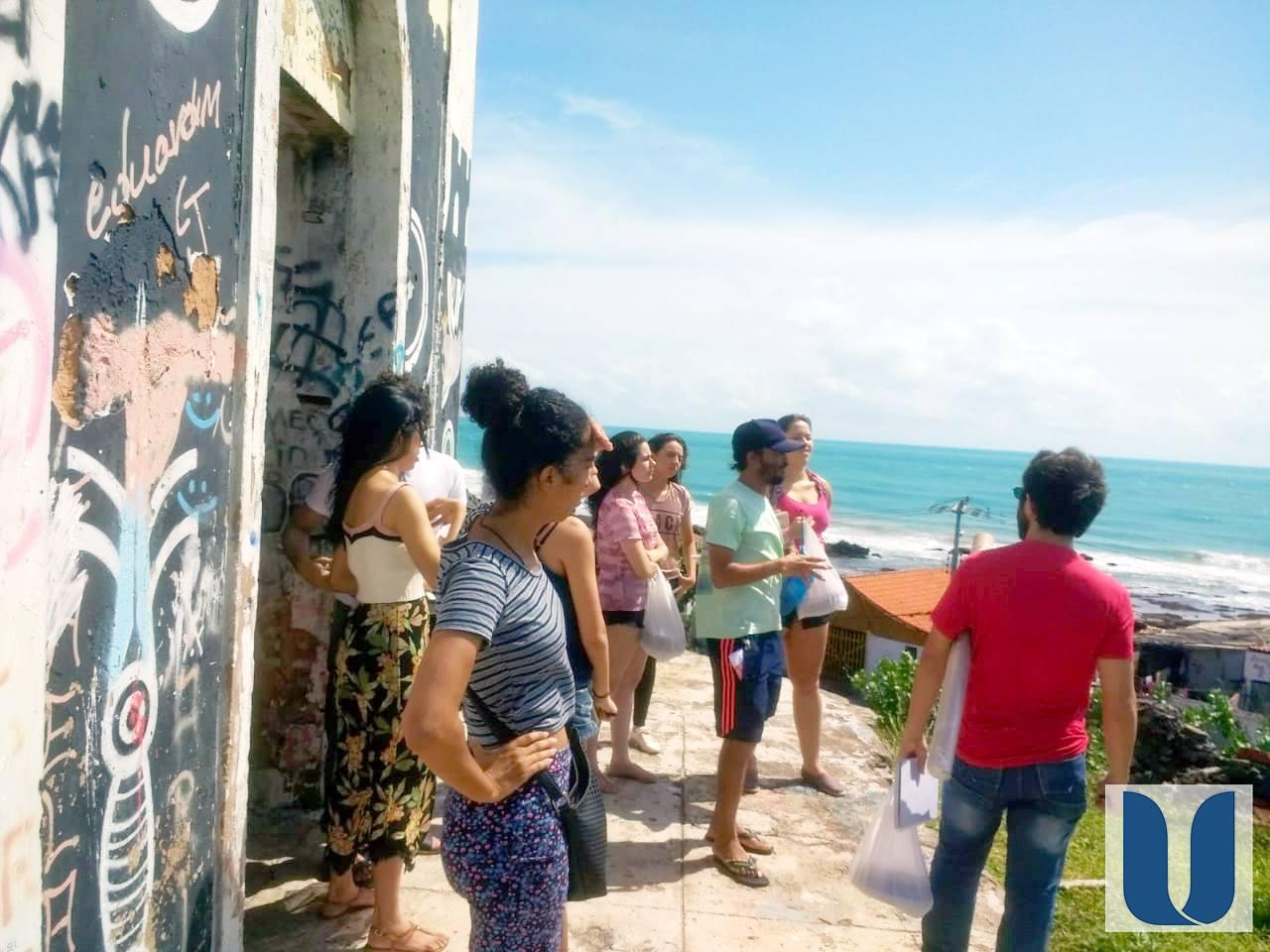 A visita Técnica dos alunos do Curso de Arquitetura e Urbanismo ao bairro Serviluz foi uma experiência de bastante diálogo e muito aprendizado