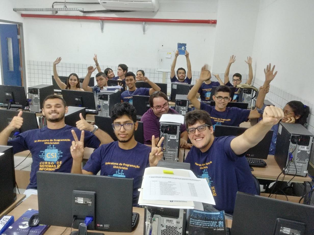 Concurso Maratona de Programação 2018 do curso de Sistemas de Informação Unichritus