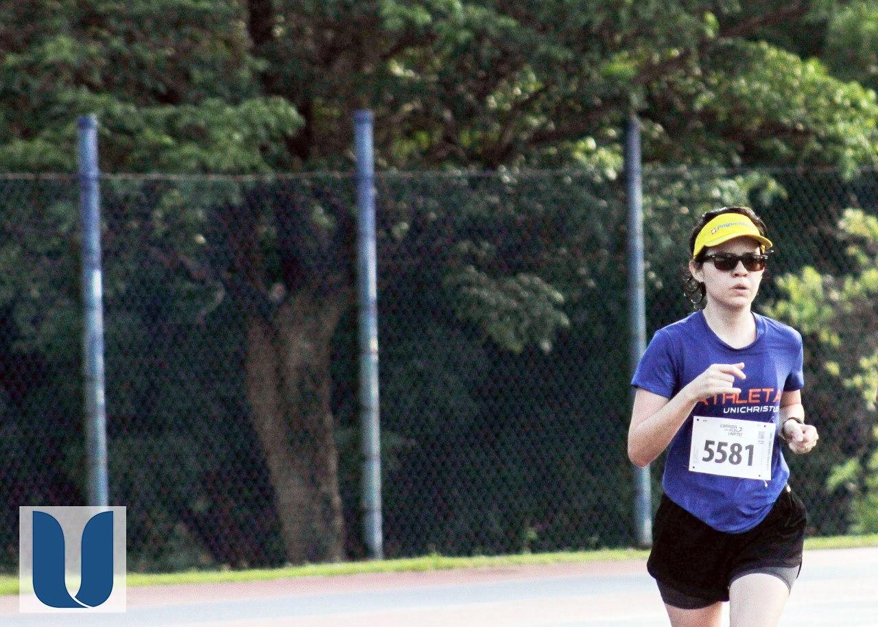Colaboradora e acadêmica do Curso de Processos Gerenciais em EaD participou de corrida de rua de 5 km