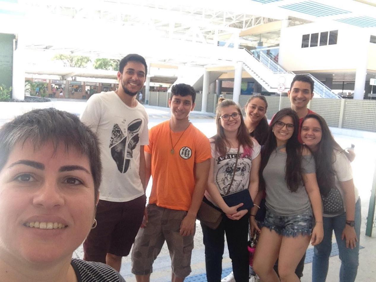 Os alunos do Curso de Arquitetura e Urbanismo da Unichristus visitaram os terminais de ônibus de Fortaleza