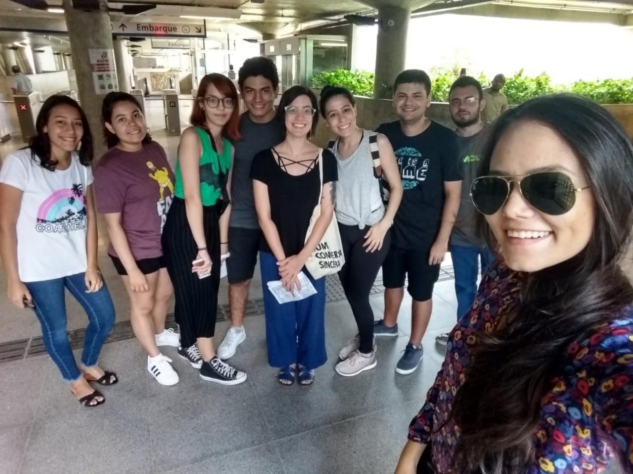 Os alunos do Curso de Arquitetura e Urbanismo da Unichristus visitaram o bairro Jacarencanca