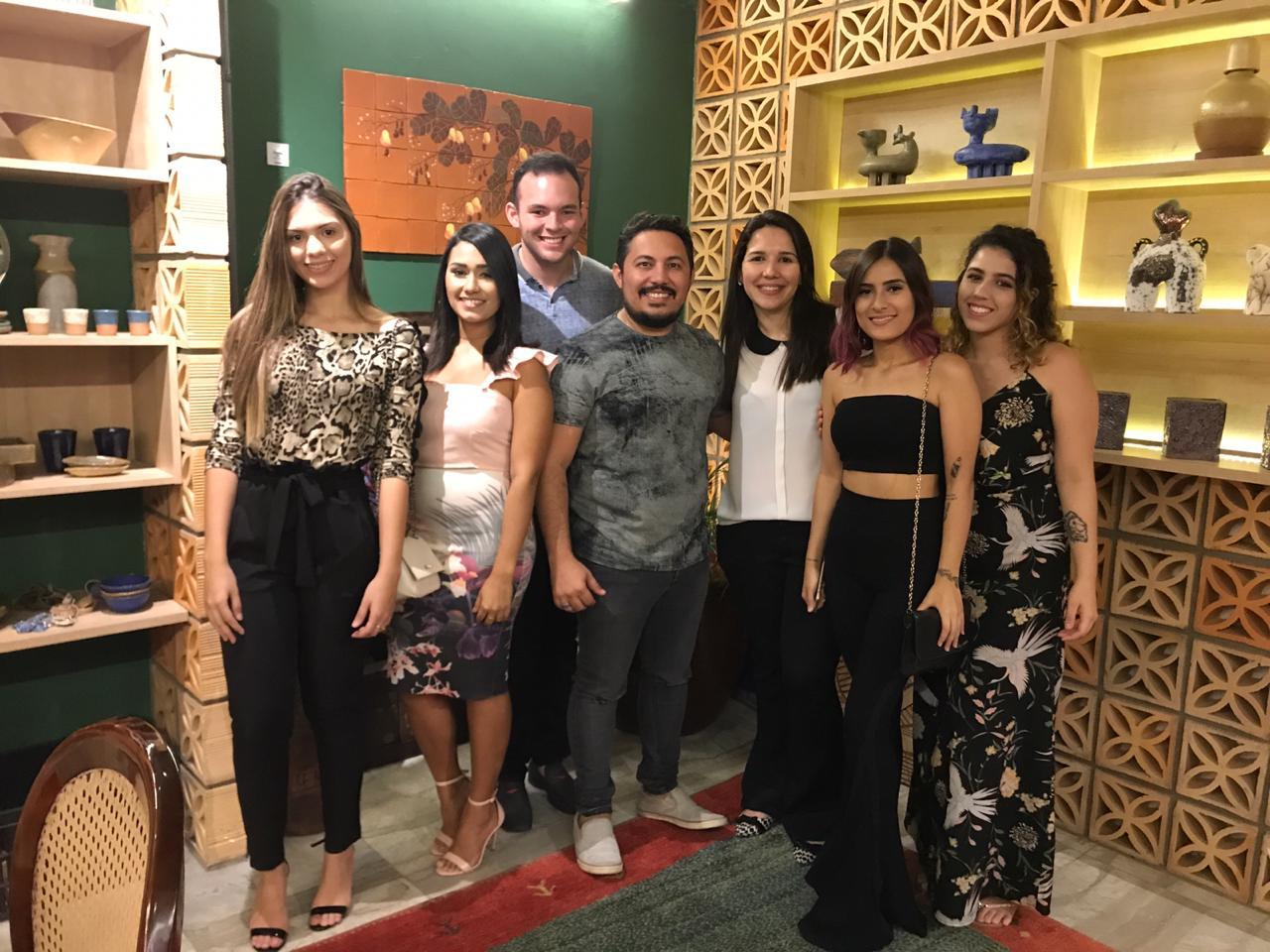 Alunos do Curso de Arquitetura e Urbanismo da Unichristus visitaram à Casacor Ceará 2018
