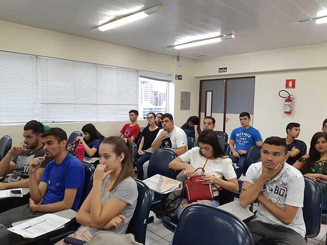 Aula Magna do curso de Administração